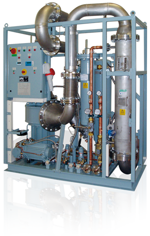 DILO Refrigeration unit for cooling the SF6 gas in gas insulated transformers (GIT) and accelerators
