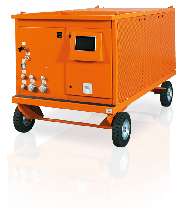 DILO Mega Series: SF6 equipment, SF6 service cart L400 / L600, SF6 maintenance unit