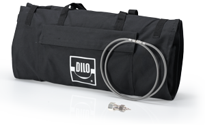 Discharge gas collecting bag with DILO coupling DN8 with hose connection B151R95