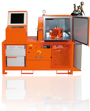 DILO Vacuum leak test system, integral leak testing, leak test unit, leak test chamber